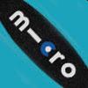 כחול אואזיס עם לוגו