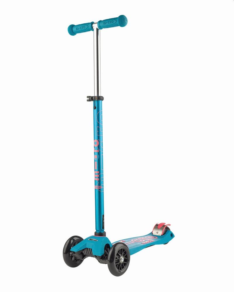 קורקינט 3 גלגלים Maxi Micro Deluxe כחול אקווה