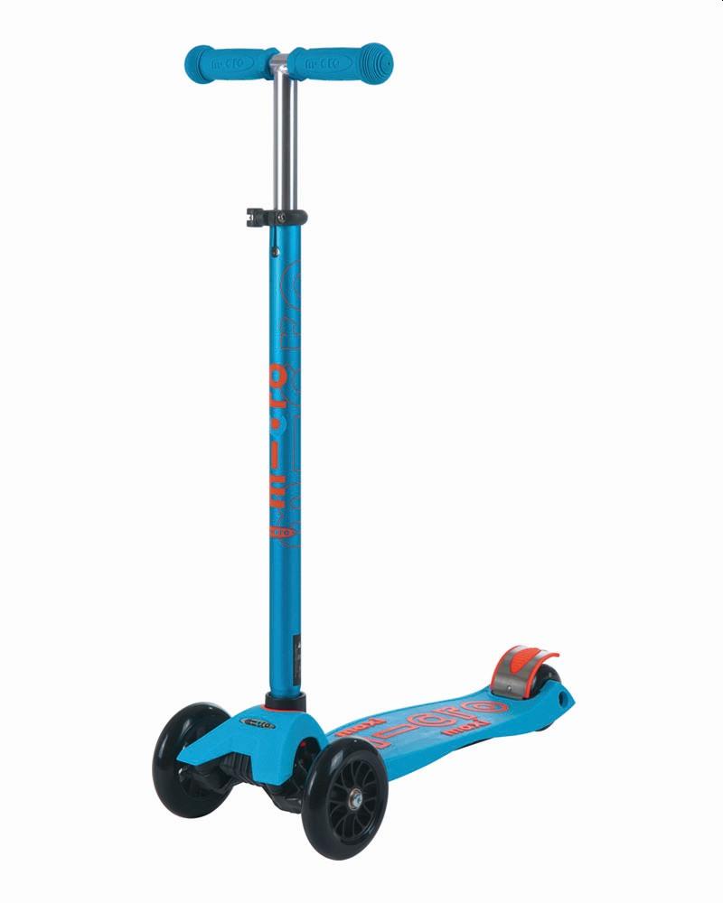 קורקינט לילדים 3 גלגלים Maxi Micro Deluxe כחול קאריבי