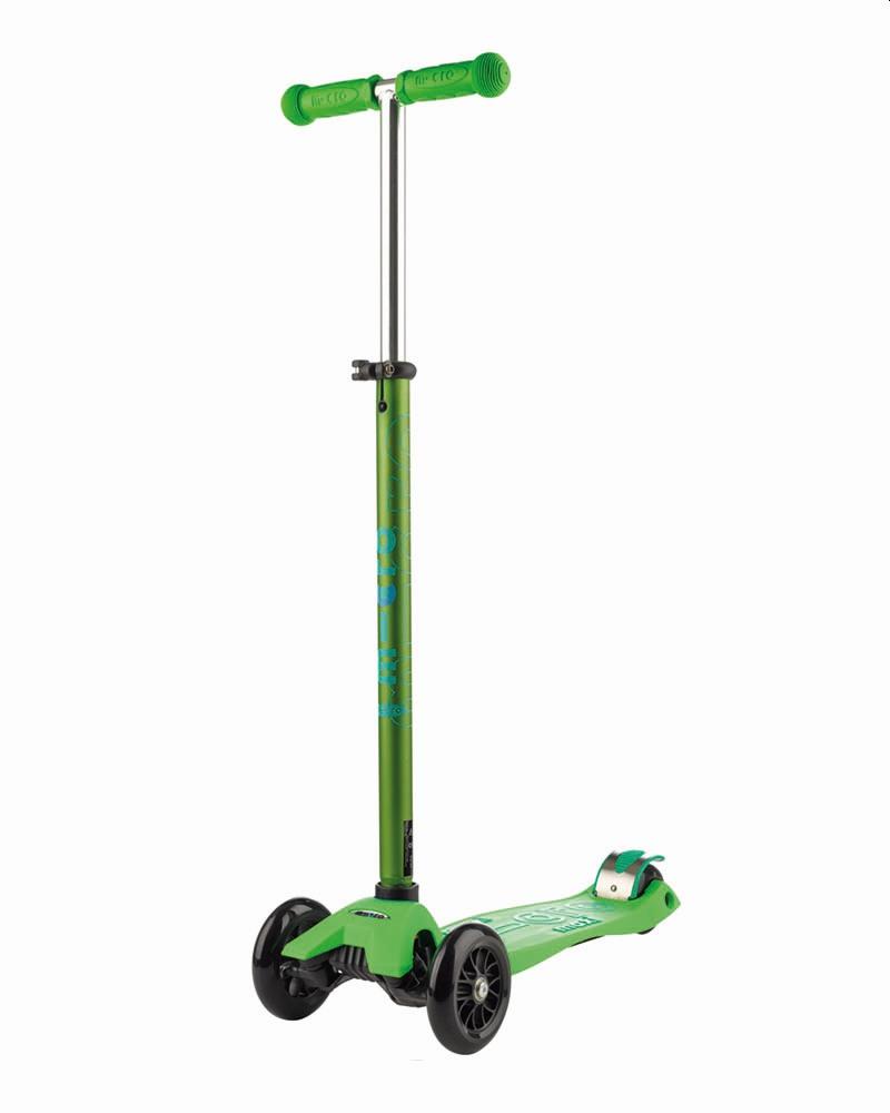 קורקינט לילדים 3 גלגלים Maxi Micro Deluxe ירוק
