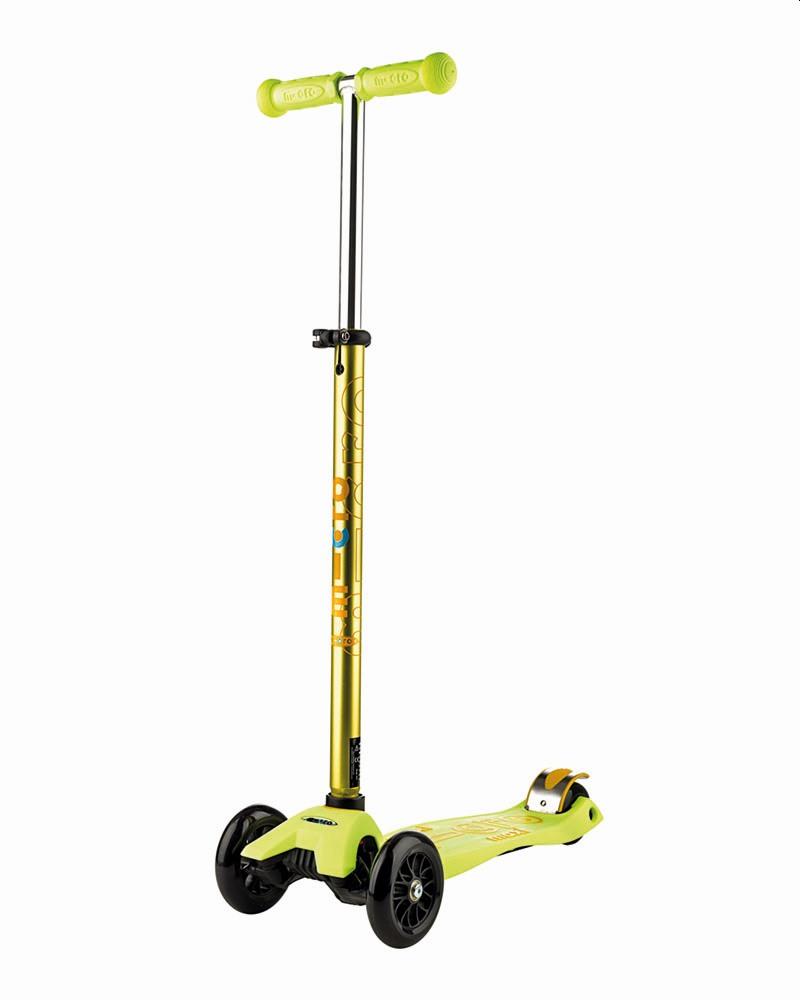 קורקינט 3 גלגלים Maxi Micro Deluxe צהוב