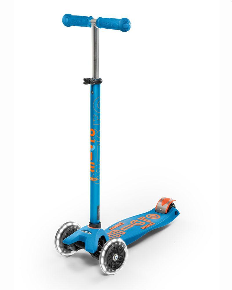קורקינט 3 גלגלים לילדים בגילאים 5-7 | מקסי מיקרו דלוקס | מיקרו ישראל