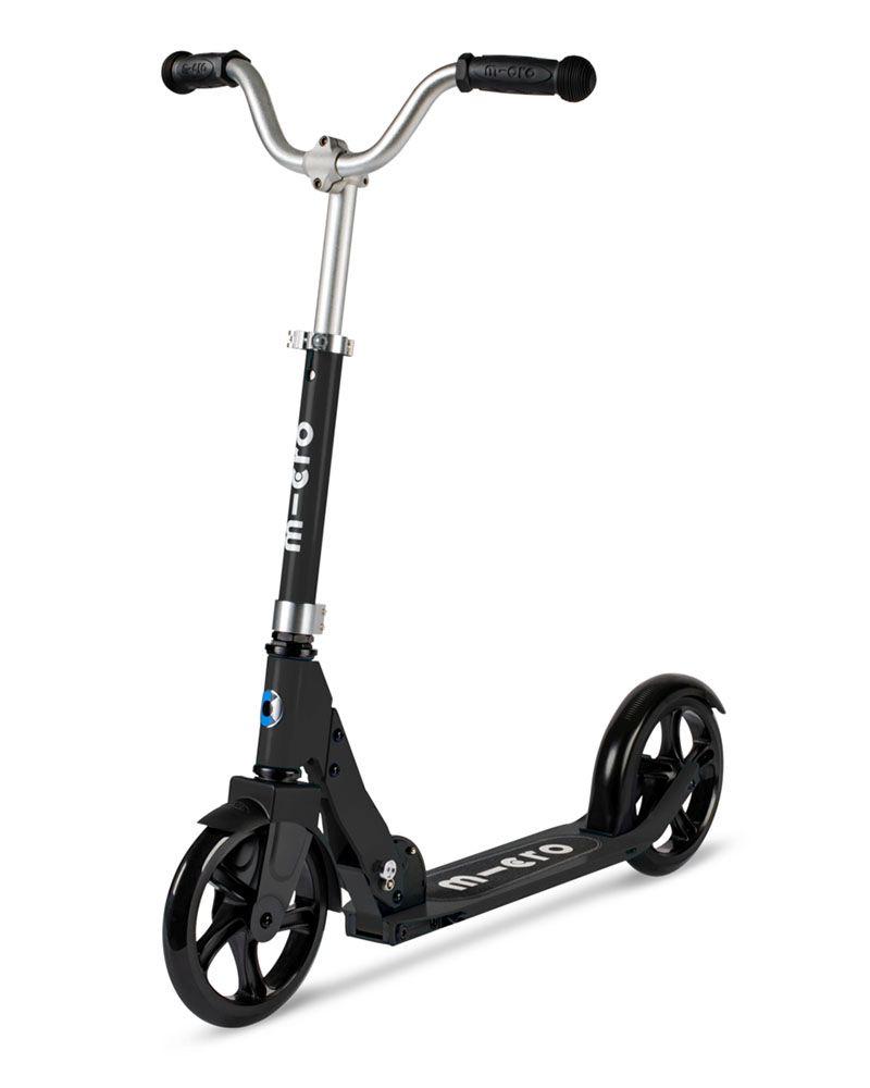 Micro Cruiser שחור - קורקינט 2 גלגלים למבוגרים | מיקרו ישראל